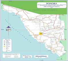 Puerto Penasco Map Map Of San Luis Sonora Mexico My Blog