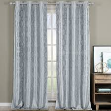 Blackout Curtains Grommet Voyage Thermal Blackout Curtains With Grommets Set Of 2 Panels