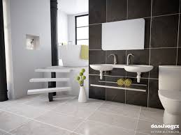 scandinavian bathroom scene hdri c4d vray by mockuprender 3docean