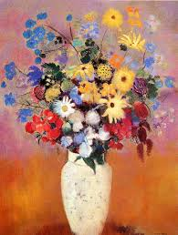 Pictures Of Vases With Flowers White Vase With Flowers 1916 Odilon Redon Wikiart Org