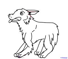 drawn german shepherd kid pencil and in color drawn german