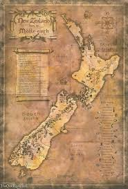 Map Middle Earth 8 Besten Scrapbooking New Zealand Bilder Auf Pinterest Layouts