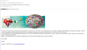 Resume Translator Freelance Translator From English Into Russian And Ukrainian Is