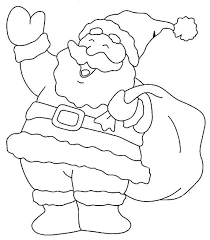 coloring pages santa clause picture 33