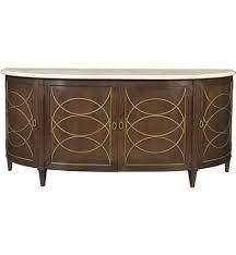 duchamp demilune sideboard with satillia marble top from the