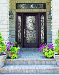 best fiberglass door made in canada home decor window door plastpro wrought iron priscilla fiberglass single door with