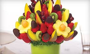 chocolate covered fruit baskets edible arrangements half fruit bouquets edible