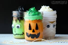 halloween cookie jar halloween mason jar mini cakes life made simple