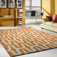 Orange And Brown Area Rug Flooring Awesome 5x7 Area Rugs With Charming Motif For Inspiring