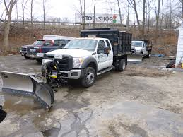 Ford F350 Dump Truck With Plow - 2011 f250 plow and sander 2011 f550 plow sander and 2012 f350