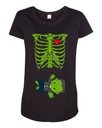baby skeleton baby frankenstein halloween horror funny maternity