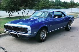 blue 68 camaro car picker blue chevrolet camaro