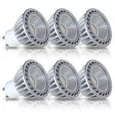 gu10 led light bulbs 50w equivalent 100 aluminum reflector 2700k