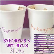 synonyms antonyms sticks teach me