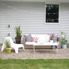Pea Gravel Patio How To Make A Diy Pea Gravel Patio Modern Chemistry At Home
