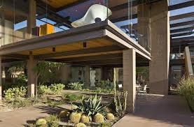 In Scottsdale This Mezzanine Design Features Exposed Steel Beams