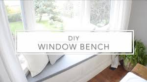 bench building a window bench how to build window seat from wall