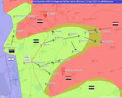 Syria Battle Map by Agathocle De Syracuse Understand Modern Conflicts