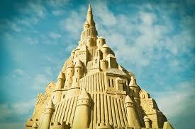 world u0027s tallest sandcastle rises in a german landlocked city