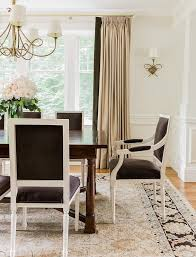 dining room curtain brown curtains design ideas