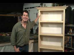 Building Wooden Bookshelves by Build A Bookcase Easy Youtube