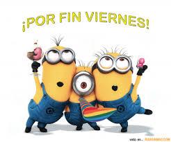 Memes De Los Minions - por fin es viernes para los minions minions pinterest