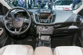 New Focus Interior 2017 Ford Escape Updated With Fresh Looks New Engines