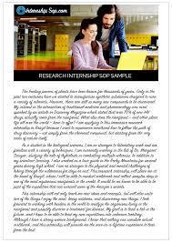 Statement Of Purpose Essay Sample Our Finest Sample Sop For Internship Internship Sop