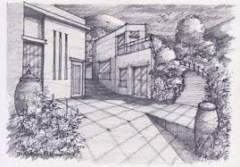 sketching and rendering in pencil pencil drawing scenery pencil