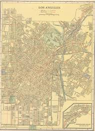 Downtown Los Angeles Map by The Usgenweb Archives Digital Map Library Hammonds 1910 Atlas