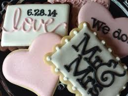 wedding cookies 25 cookie bar ideas for your wedding weddingomania