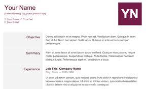 Sample Resume Google Docs by Excellent Google Docs Templates Resume 10 Google Docs Templates