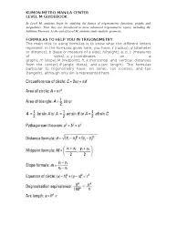 kumon level m trigonometric functions trigonometry