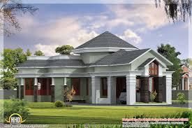 elegant looking one floor home elevation 2550 sqft 1 story house