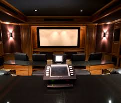 interior futuristic audio video home movie theater rooms excerpt