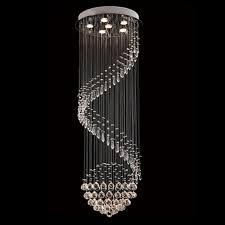 Spiral Pendant Ceiling Light Byb Modern Chandelier Drop Lighting Spiral Wave