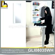 wall mount ironing board cabinet white wall mounted ironing board cabinets mirror ironing board closet