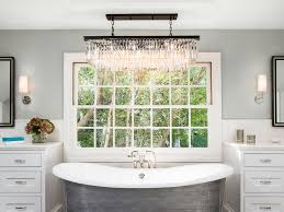 bathroom arabesque tile cast iron bath tub metal bath tub