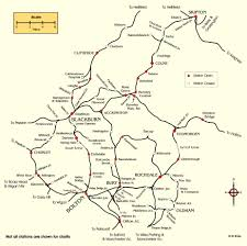 Tyne Metro Map by Historical Maps