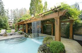Timber Trellis Traditional Patio With Fountain U0026 Outdoor Kitchen Zillow Digs