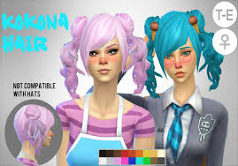the sims 4 cc hair ponytail image result for sims 4 ponytail cc yandere sim4 ulatore cc