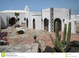 Spanish Style Courtyards by Spanish Style House Stock Photos Image 20946383