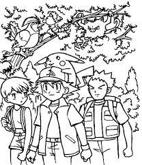 spectacular inspiration pokemon coloring pages ash ash ketchum
