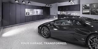 garage flooring storage organization living underground luxury garage with dark grey lamborghini