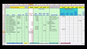 Schedule C Expenses Spreadsheet Simple Accounting Spreadsheet For Small Business Nbd
