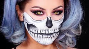 Halloween Womens Makeup by Skull Makeup Stock Photos Skull Makeup Stock Images Alamy