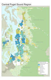 Pierce College Map In Fits And Starts Seattle Plans For Regional Scale Urbanism