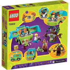 scooby doo lego scooby doo the mystery machine 75902 walmart com
