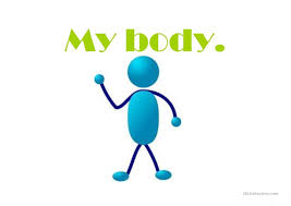 body parts ppt for kids easy and interesting worksheet free