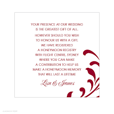 gift registry for weddings wedding website gift registry wording best 25 honeymoon registry